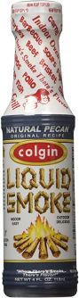 Colgin Pecan Liquid Smoke Sauce  4oz (118ml)