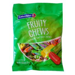 Colombina Fruity Chews 6.03oz (171g)
