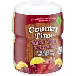 Country Time Black Cherry Lemonade 18.3oz (521g)