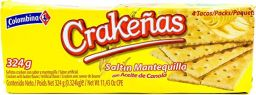 Colombina Crackenas Mantequilla 11.43oz (324g)