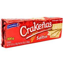Colombina Crackenas Saltin 10.58oz (300g)