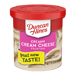 Duncan Hines Creamy Cream Cheese Frosting 16oz (454g)