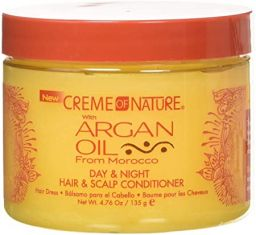 Creme of Nature Argan Oil Day&Night Hair & Scalp Conditioner 4,76oz (135g)