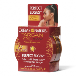 Creme Of Nature Argan Oil Perfect Edges For Hold & Control 2.25oz (63.7g)
