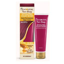 Creme of Nature Pure Honey Hydrating Color Boost Magenta 3oz (89ml)
