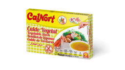 Calnort Vegetable Bouillon Cubes 4.23oz (120g)