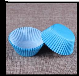 Cupcake Paper Lightblue Cup - 100 Stuks