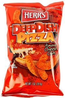 Herr's DeepDish Pizza Cheese Curls 198.5gr