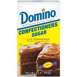Domino Confectioners Sugar 10x Powdered 453gr