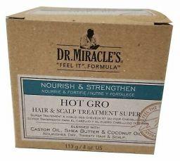 Dr. Miracle's Hot Gro Hair & Scalp Treatment Super 4oz (113g)