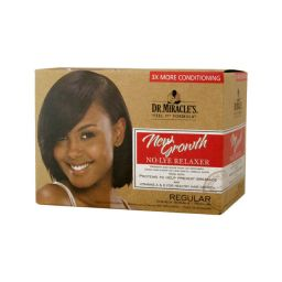 Dr. Miracle's New Growth No-Lye Relaxer Kit Regular