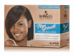Dr. Miracle's New Growth No-Lye Relaxer Kit Super