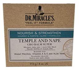 Dr. Miracle's Temple & Nape Gro Balm Super 4oz (113g)