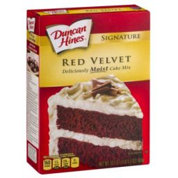 Duncan Hines Red Velvet 468gr