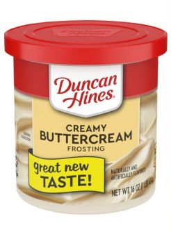 Duncan Hines Creamy Buttercream Frosting 16oz (454g)