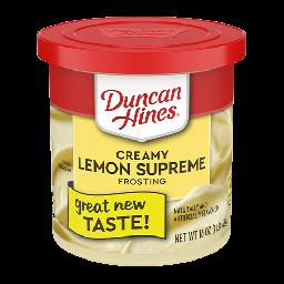 Duncan Hines Creamy Lemon Supreme Frosting 16oz (454g)