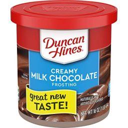 Duncan Hines Creamy Milk Chocolate Frosting 16oz (454g)