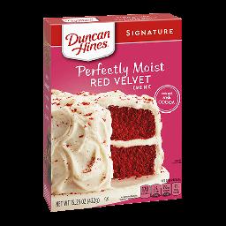 Duncan Hines Red Velvet 15.25oz (432oz)