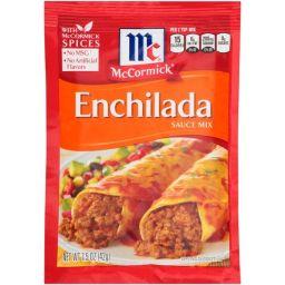 McCormick's Enchilada Seasoning Mix 1.5oz (42g)