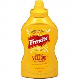 French's Classic Yellow Mustard 14oz (396g)