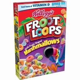 Kellogg's Froot Loops Marshmallows 10oz (297g)