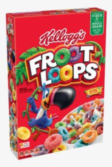 Kellogg's Froot Loops 10.1oz (286g)