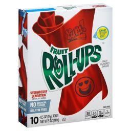 Fruit Roll-Ups Strawberry Sensation 5oz (141g) DATUM