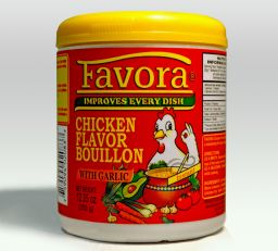Favora consome de pollo - Garlic 200gr