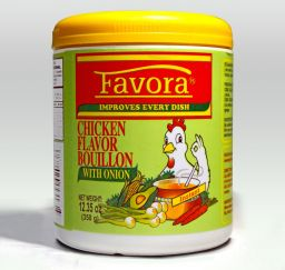 Favora Consome De Pollo - Onion 12.35oz (350g)