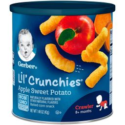 Gerber Lil' Crunchies Apple Sweet Potato 1.48oz (42g)