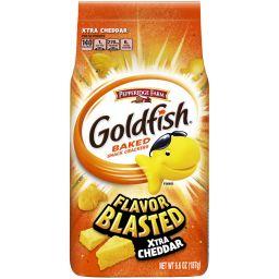 Pepperidge Farm Goldfish Crackers - Flavor Blasted Xtra Cheddar 6.6oz (187g)