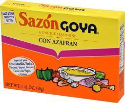 Goya Sazon Azafran Seasoning 1.41oz (40g)