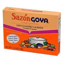 Goya Sazon Coriander & Annatto Seasoning 40g