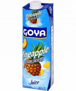 Goya Pineapple Juice 33.8oz (1L)