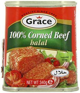 Grace Corned Beef 100% Halal 340gr