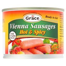 Grace Vienna Sausage Hot & Spicy 7oz (200g)