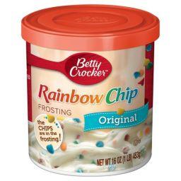 Betty Crocker Rainbow Chip Frosting 16oz (453g)