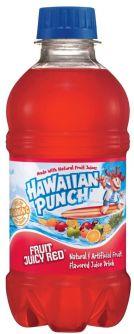 Hawaiian Punch Fruit Juicy Red Drink 10oz (296ml)
