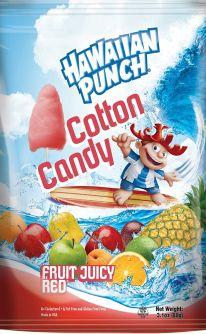 Hawaiian Punch Cotton Candy 3.1oz (88g)