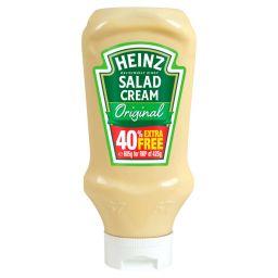 Heinz Salad Cream Original 605g (570ml)