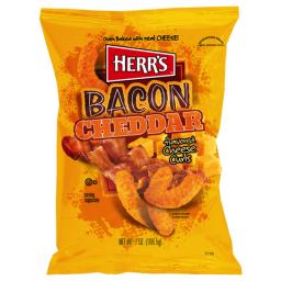 Herr's Bacon Cheddar Cheese Curls 6.5oz (184g)