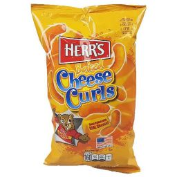 Herr's Baked Cheese Curls 184gr