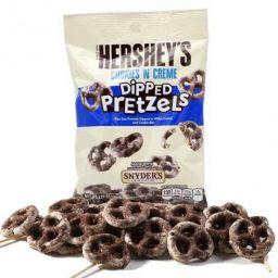 Hershey's Cookies 'N Cream Dipped Pretzels 4.25oz (120g)