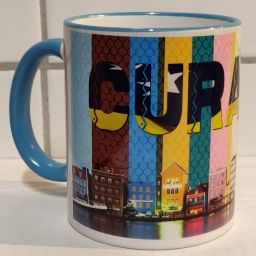 Curacao Mug Handelskade Full Design - Colorful