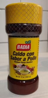 Badia Chicken Flavor Bouillon 12oz