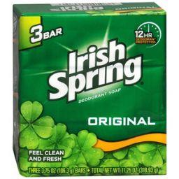 IRISH Spring Green Bath 318.93gr - 3stuks