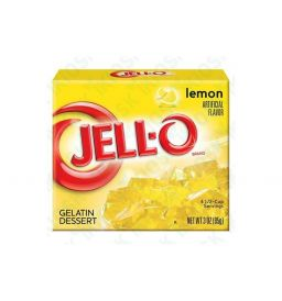 Jello Gelatin Lemon Powder 3oz (85g)