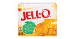 Jello Gelatin Apricot Powder 3oz (85g)