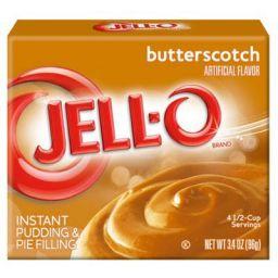 Jello Butterscotch Pudding 96gr (3.4oz)