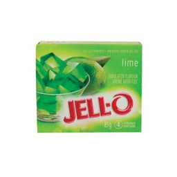 Jello Gelatin Lime Powder 85gr